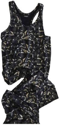 Marcelo Burlon County of Milan Grey Cotton Dresses