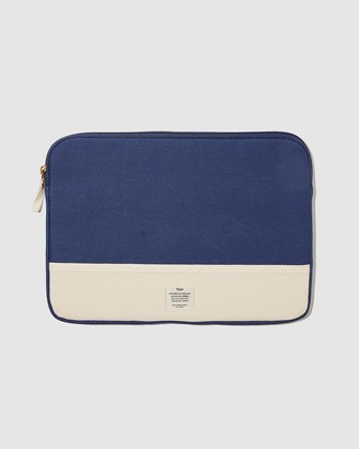 Typo - Blue Laptop Cases - Canvas 13 Inch Laptop Case - Size One Size at The Iconic