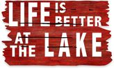 "Bed Bath & Beyond Masterpiece 18-Inch x 30-Inch ""Life is Better at the Lake"" Door Mat"