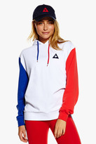 Le Coq Sportif Tricolores Pullover Hooded Sweat