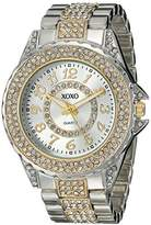 XOXO Women's XO5741 Analog Display Analog Quartz Silver Watch