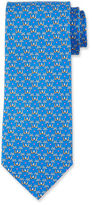 Salvatore Ferragamo Palm Tree Silk Tie