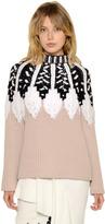 Peter Pilotto Intarsia Design Wool Blend Sweater