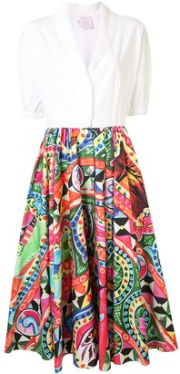Stella Jean Pop Art Print Shirt Dress