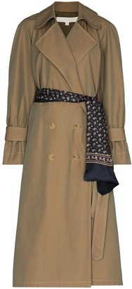 By Any Other Name French double-breasted trench coat