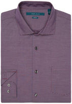 Perry Ellis Big and Tall Non-Iron Iridescent Stripe Shirt