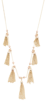 Made In Italy 14k Gold And Rose Gold Fringe Necklace