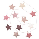 Numero 74 Stars garland - pink