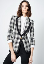 Singer22 TAPED PEAKED LAPEL BLAZER