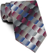 Van Heusen Shaded Geo Silk Tie