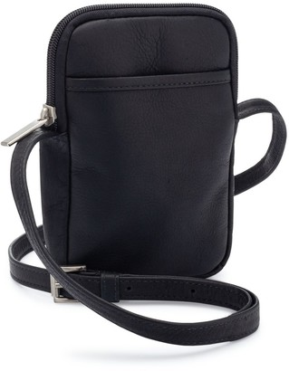 Le Donne Leather Smartphone Crossbody - Cinder