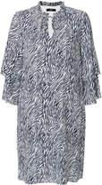Steffen Schraut layered sleeve shift dress