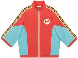 Gucci Children's cotton sweatshirt with Interlocking G