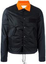 Comme des Garcons contrast collar jacket