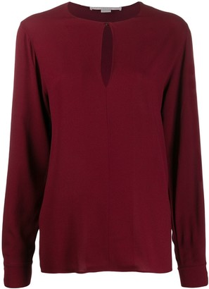 Stella McCartney Keyhole-Detail Blouse