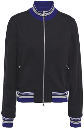 3.1 Phillip Lim Striped French Cotton-terry Track Jacket