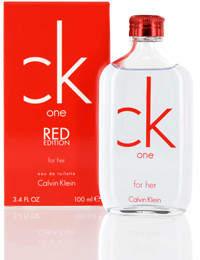 CK One Red Edition / Calvin Klein EDT Spray 3.4 oz (w)