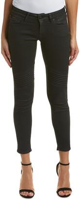 Mavi Jeans Aura Black Low-Rise Super Skinny Leg