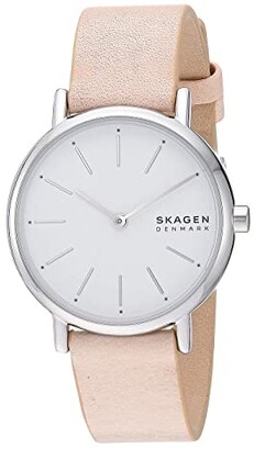 Skagen Signatur Two-Hand Women's Watch (SKW2759 Silver Stainless Steel Mesh) Watches