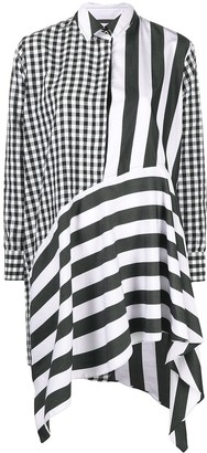 Marques Almeida Asymmetric Shirt Dress
