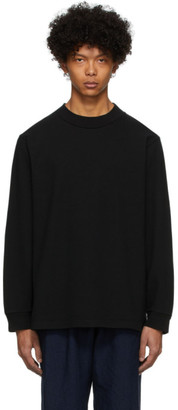 Blue Blue Japan Black Firm Jersey Turtleneck T-Shirt