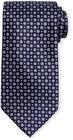 stefano ricci neat floraldot patterned silk tie