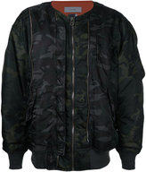 Facetasm oversized bomber jacket - men - Nylon - 0