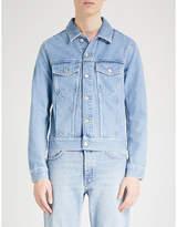 Sandro Light-washed Denim Jacket