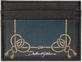 Dolce & Gabbana Black Tassel Card Holder