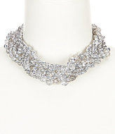Cezanne Pave Fireball Beaded Torsade Necklace