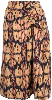 Ulla Johnson Ember geometric-print skirt