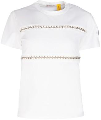 MONCLER GENIUS Moncler X Noir Kei Ninomiya Chain Detail T-Shirt
