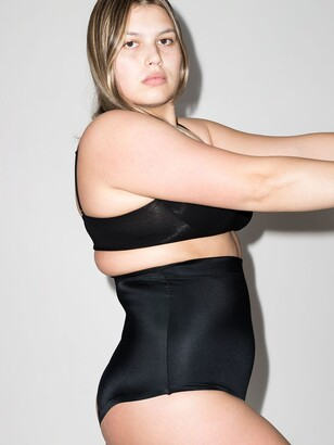 Spanx Black Suit Your Fancy High Waist Thong