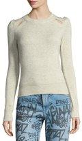 Etoile Isabel Marant Klee Cutout Crewneck Sweater