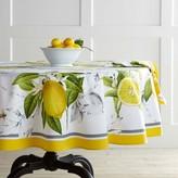 Williams-Sonoma Williams Sonoma Meyer Lemon Round Tablecloth