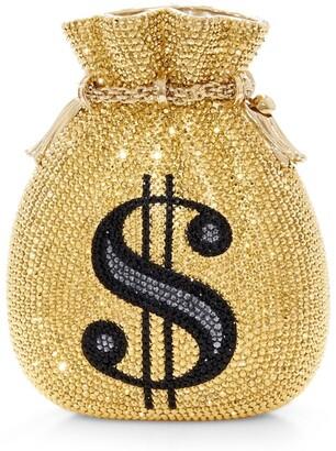Judith Leiber Money Pouch Clutch Bag