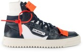 Off-White Off White Off-Court Tumbled Leather Sneakers