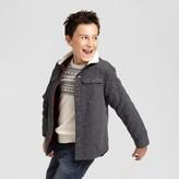 Cat & Jack Boys' Reversible Jacket Charcoal Gray