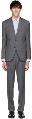 BOSS Grey Check Johnston 5 Lenon 1 Suit