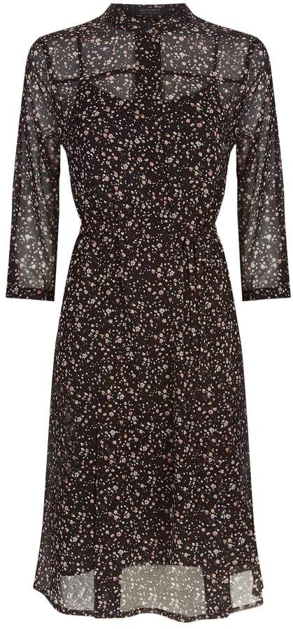 AllSaints Volta Pepper Print Dress