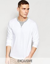 Franklin & Marshall Crew Neck Long Sleeve T-shirt Exclusive To Asos