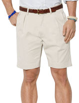 Polo Ralph Lauren Classic-Fit Pleated 9 inch Chino Shorts