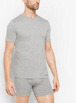 Michael Kors 3-Pack Crewneck Cotton T-Shirt
