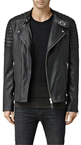 Allsaints Allsaints Jasper Leather Biker Jacket, Black