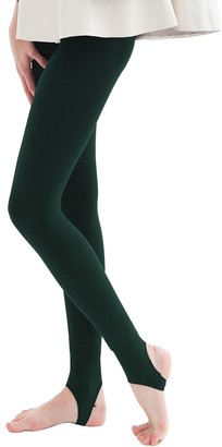 La Dearchuu Winter Warm Leggings Petite Women Fleece Lined Leggings Stretchy Ladies Thermal Leggings Opaque Tights with Stirrup Thick Bottoms Leggings UK Size 4-10