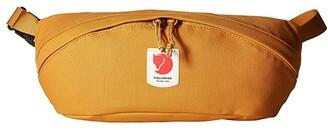 Fjallraven Ulvo Hip Pack Medium (Red Gold) Handbags