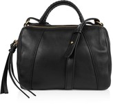Kooba Turner Micro Leather Duffel Satchel