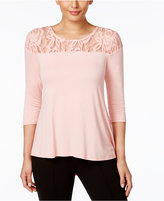 NY Collection Illusion Swing Top