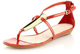 "Nine West Weslie"" Closed Back Thong Sandal"