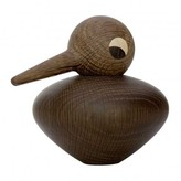 Architect Made Round bird in smoky oak by Kristian Vedel
